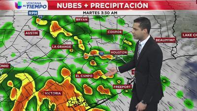 Ventana al Tiempo: ¿Continuarán la lluvias este martes en Houston?