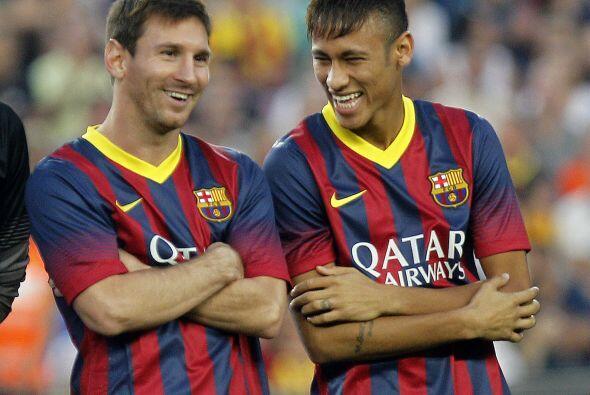 Por primera vez el barcelonismo vio a Neymar y Messi juntos y parece que...