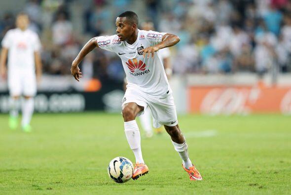 Robinho vuelve a sonar fuerte para arribar al fútbol mexicano, hace seis...