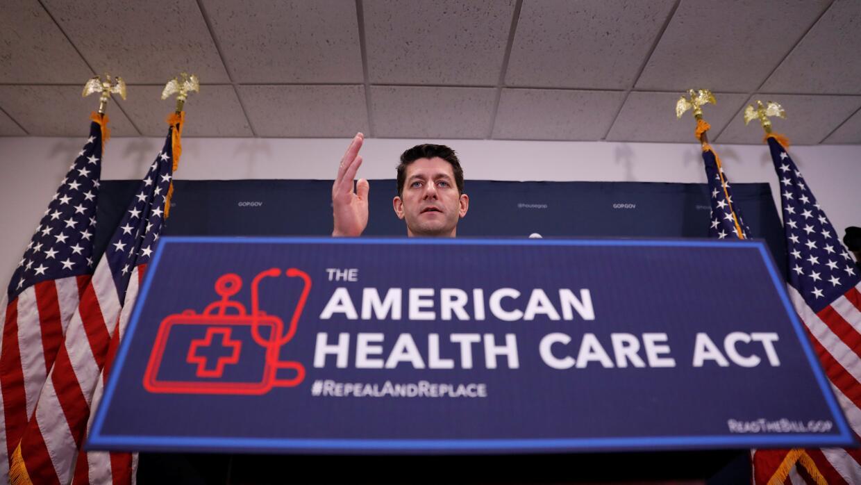 La propuesta presentada en la Cámara de Representantes por Paul Ryan y D...
