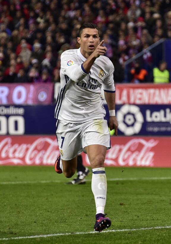El show de Cristiano Ronaldo en el triunfo contra Atlético de Madrid Get...