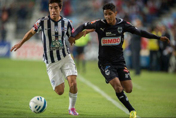 En el duelo entre Monterrey y Pachuca, Rayados mantiene la superioridad...