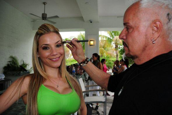 Odaray llega a la competencia a representar a Cuba. Le encantaría que el...