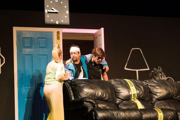 "Paula Arcila actua en la genial y divertida obra de teatro ""Taxi&qu..."