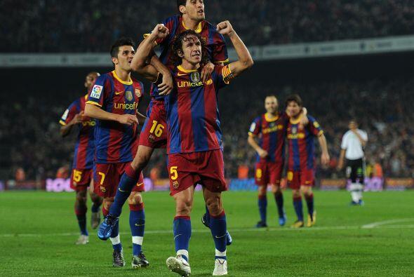 El Barcelona levantó un partido muy duro, descontó puntos y sigue demost...