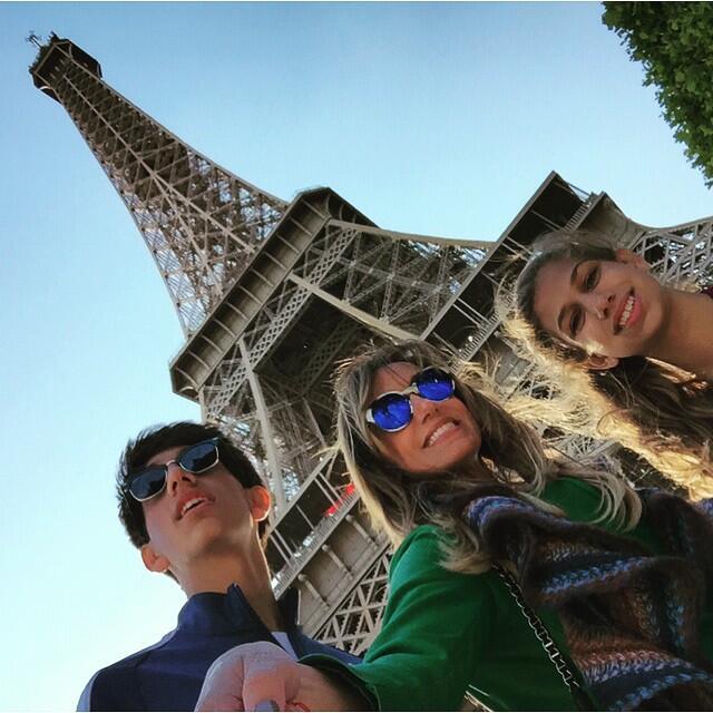 La Flaca pasó unas lindas vacaciones en París, Francia.