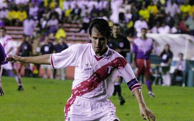 Juan Reynoso, único sobreviviente del Alianza de Lima de 1987.