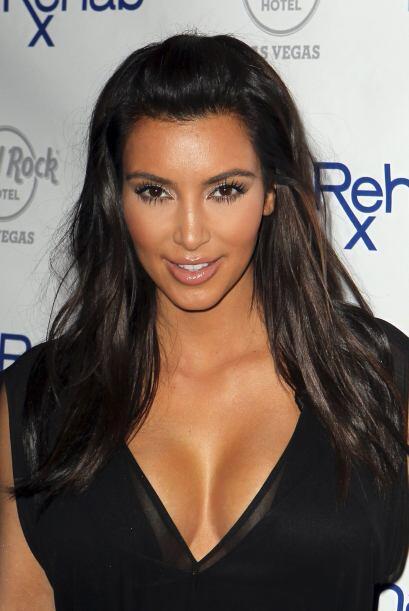 La celebridad es bien conocida por sus curvas y por su énfasis en mostra...