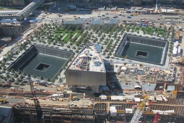 La Zona Cero es un enjambre de máquinas, materiales de construcción y ob...