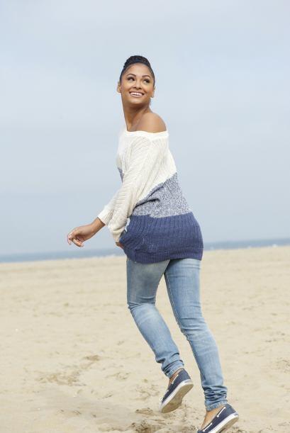 Lucía recomienda unos 'skinny jeans' en tonos oscuros, para afinar la si...