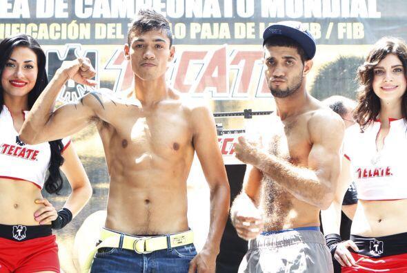 En la pelea coestelar, Tomás 'Gusano' Rojas e Irving Beltr&aacute...