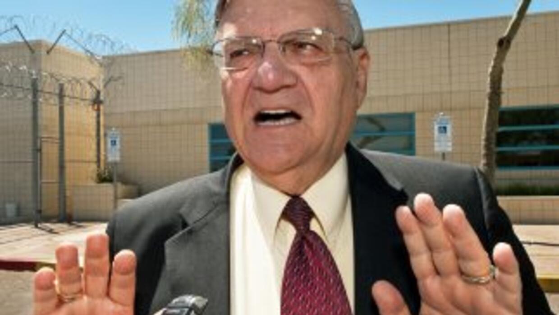 Joe Arpaio, alguacil de Maricopa.
