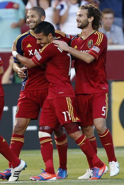 Alvaro Saborío volvió a alzarse como el héroe del Real Salt Lake al anot...