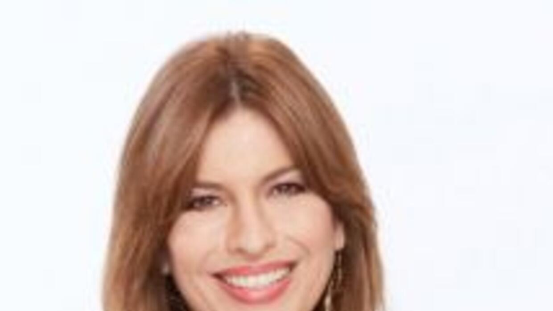 La meteoróloga Paola Elorza