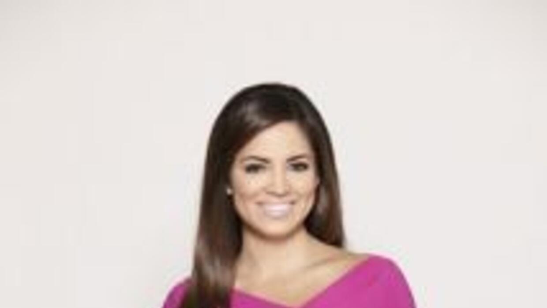 La periodista sale al aire en Primer Impacto junto a Bárbara Bermudo.