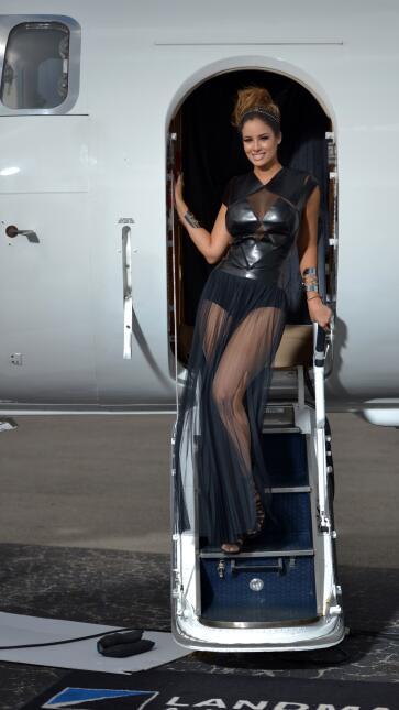 Llegó a Nuestra Belleza Latina con la preparación de una reina y se conv...