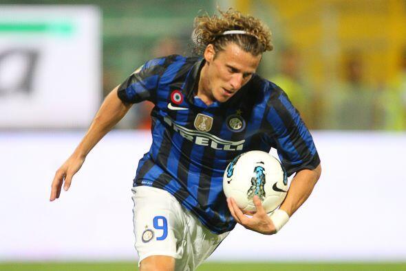 Forlán se estrenó como goleador 'nerazzurro', aunque su Inter fue sorpre...