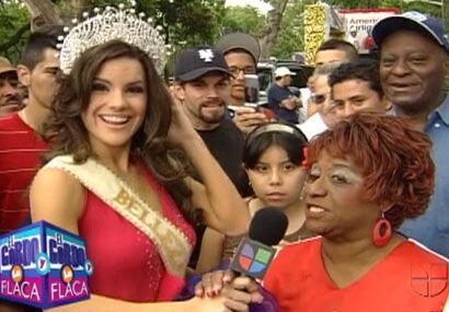 De cubana a cubana, Greidys entrevistó a una imitadora de Celia Cruz......