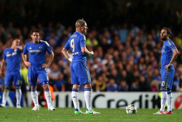 Igualada final que a Chelsea le dejó un sabor a derrota.