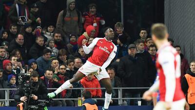 En fotos: Arsenal pasó a semifinal de Europa League a pesar de sufrir contra CSKA Moscú