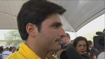 """Carlos Sainz Jr. se refirió al circuito de Austin: """"No es fácil porque tiene mucha curva rápida"""""""