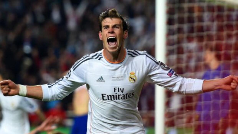 Gareth Bale anotó el gol de la ventaja del Real Madrid.