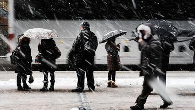 Este jueves se reactivan poco a poco las actividades en Nueva York tras la tormenta invernal