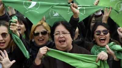 Voto histórico en el Congreso argentino sobre la despenalización del aborto