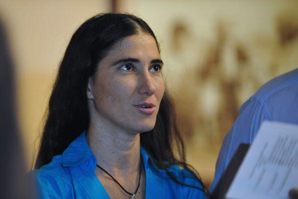 La bloguera Yoanni Sánchez ha sido una de las personas cubanas a...