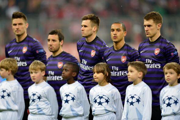 Pero el Arsenal aún soñaba con dar la sorpresa y remontar...