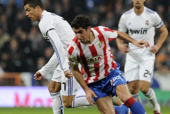 Los blancos recibieron en el Santiago Bernabéu al Atlético de Madrid.