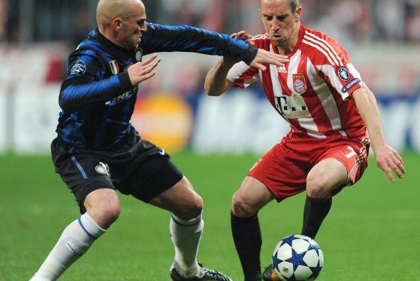 Inter de Milàn se metiò a la casa del Bayern Munich con la esperanza de...