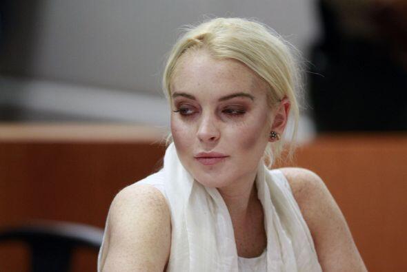 Lindsay Lohan se presentó para ver el progreso que ha tenido durante su...