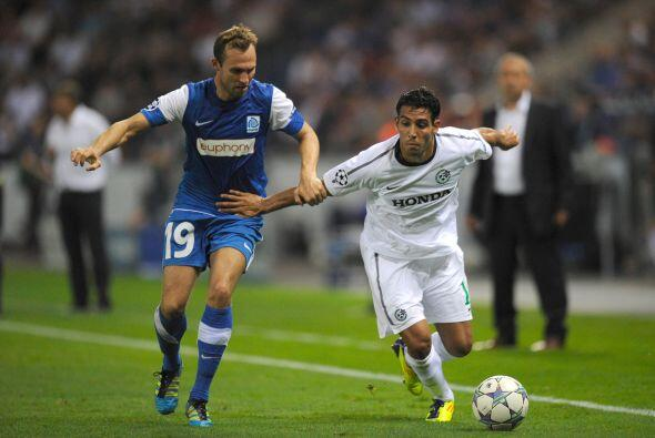 En otros partidos, el Racing Genk y el Maccabi Haifa disputaron el duelo...