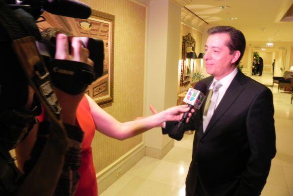 También dio gracias al público de Noticias Univisión Chicago por el gran...