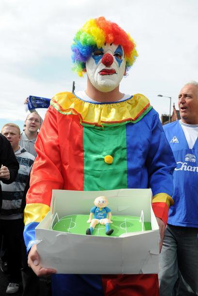La cuota de alegría en la Liga Premier la puso un hincha del Everton. Qu...
