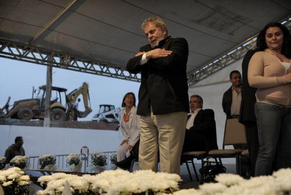 Lula recordó a sus seguidores que lo prometido se había cu...