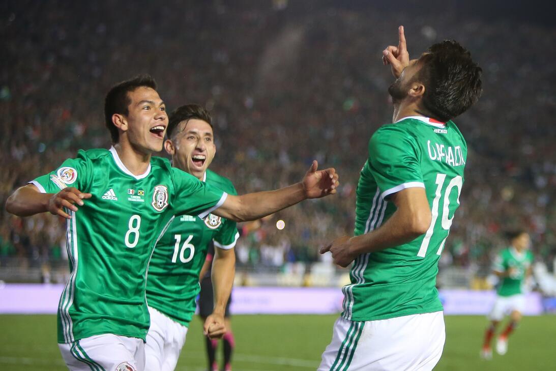 México, el invitado más competitivo en las Copa América desde 1993 20160...