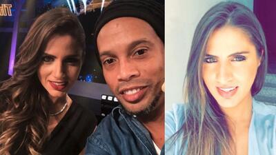 Nathalie Mamo, la amiga que Ronaldinho presentó en sus redes sociales