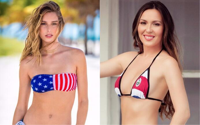 Copa Oro sexy: ¿te quedas con la angelical Team USA o con la tica seduct...