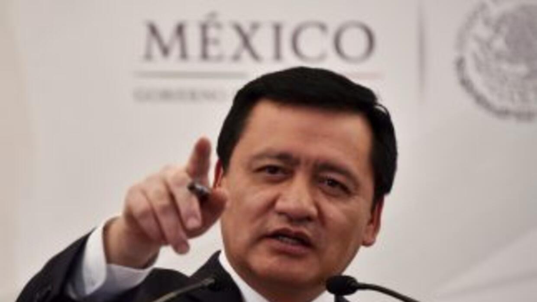 El secretario de Gobernación (ministro de Interior) mexicano, Miguel Áng...