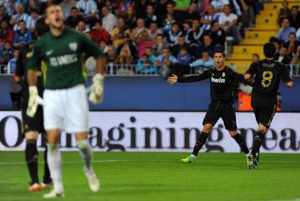 Pasaron 10 minutos y Cristiano Ronaldo definió con clase luego de un cen...