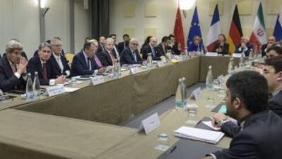 El último día de las negociaciones nucleares con Irán arrancó este marte...
