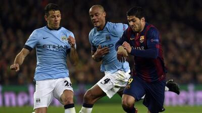 El capitán belga del Manchester City repartió elogios al Barcelona.