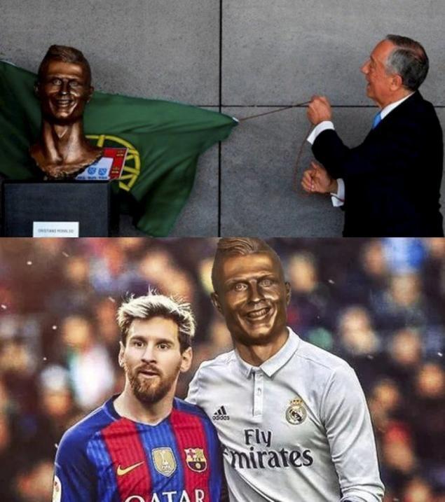 El nuevo busto de Cristiano no se salvó de los divertidos memes 75-3.jpeg