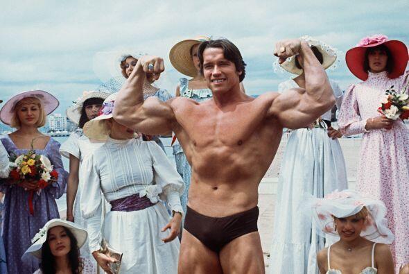 Arnold Schwarzenegger fue Mr. Universo y siete veces ganador de Mr. Olym...