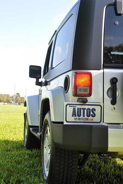 El Jeep Wragler Sahara con tracción 4x4 que probamos durante una semana...
