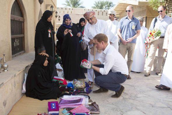 Recientemente visitó Omán (al suroeste de Asia) para dar inicio a su vis...