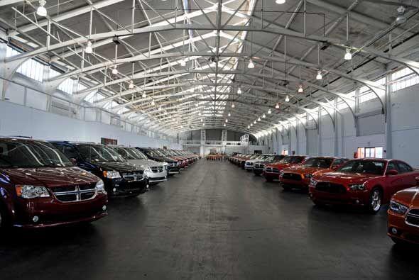 Chrysler está dispuesto a renacer despues de una etapa difícil hace un p...