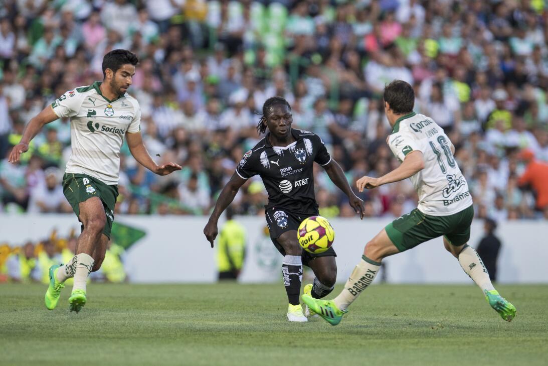Emocionante empate entre Santos y Monterrey Diego de Buen de Santos, Yim...